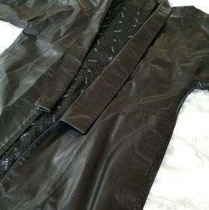 **SOLD** Fendi Leather Jacket